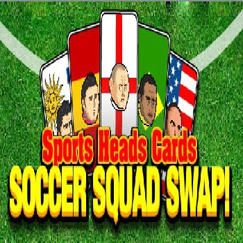 Sports Heads Cards Soccer Squad Swap - Play Strategy Game online