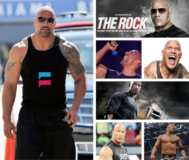 ‪Dwayne Johnson‬‬ The Rock Super Star