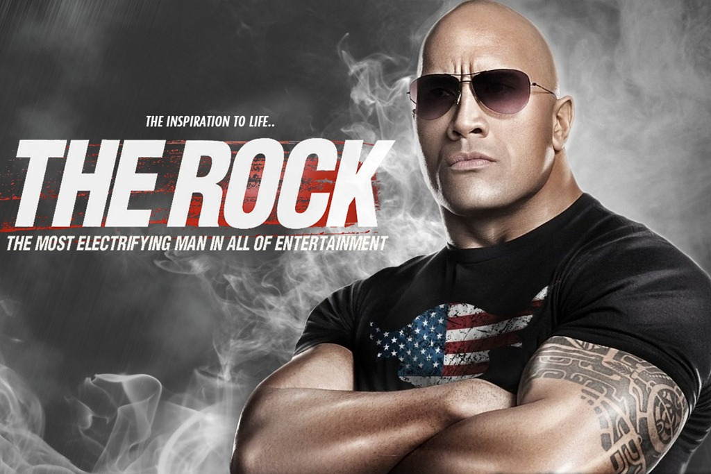 dwayne johnson the rock wwe superstar latest matches