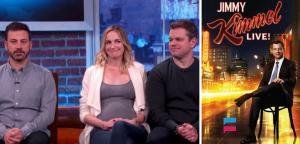 Jimmy Kimmel Wife is Pregnant – Matt Damon Surprised