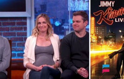 Jimmy Kimmel Wife is Pregnant - Matt Damon Surprised