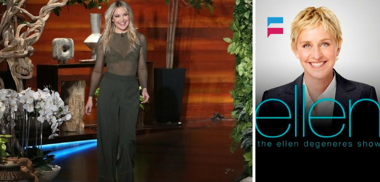 Kate Hudson - The Ellen Show