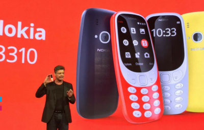 Nokia 3310 - new features