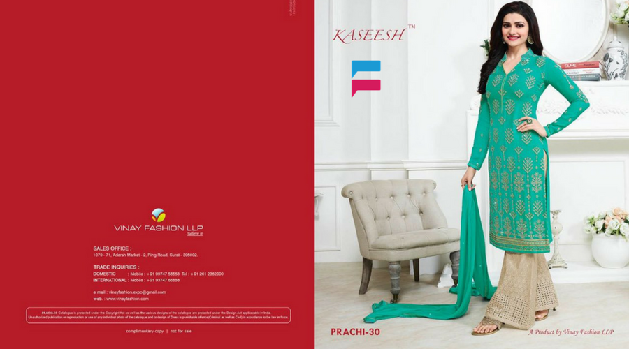 Vinay Fashion – Prachi 30 Collection