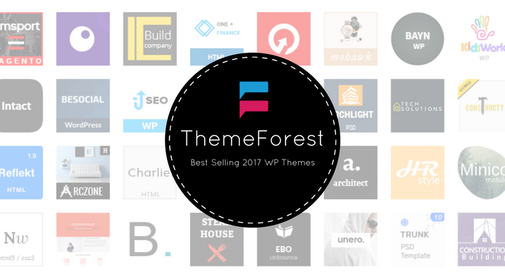 theme-forest top selling wp themes 2017
