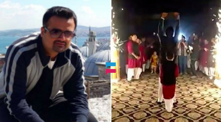 Unique Wedding At Pakistan Triple H Style Entry Lahori Wedding Idea