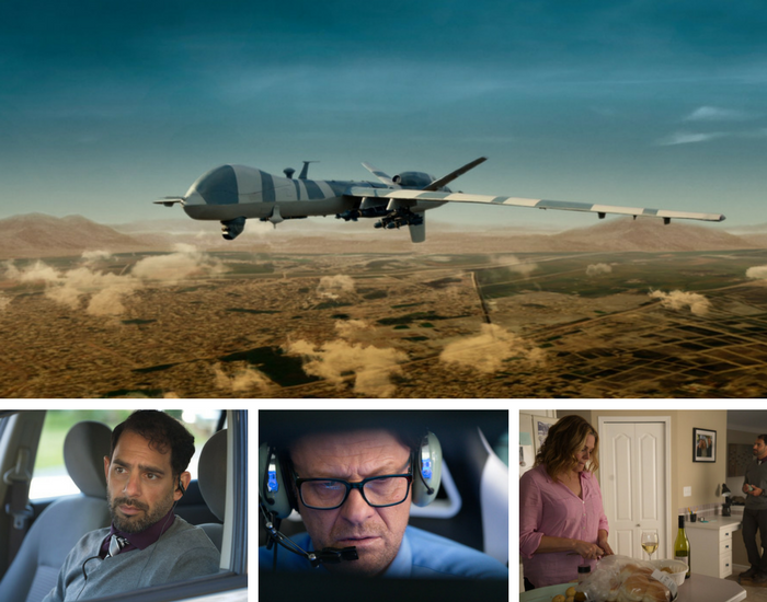 Drone (2017) movie - Cast