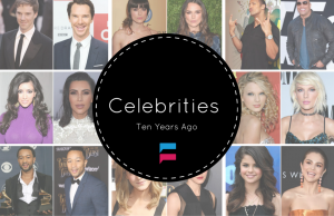 Hollywood Celebrities Ten Years Ago Compared With Now