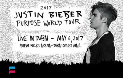 Justin Bieber- The Purpose World Tour - Dubai show 2017