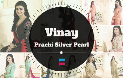 Vinay Prachi Silver Pearl Collection