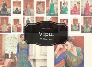 Vipul Collection 2017 – Series 4101 – 4109