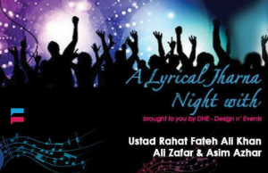 Lyrical Jharna Night – Event in Karachi