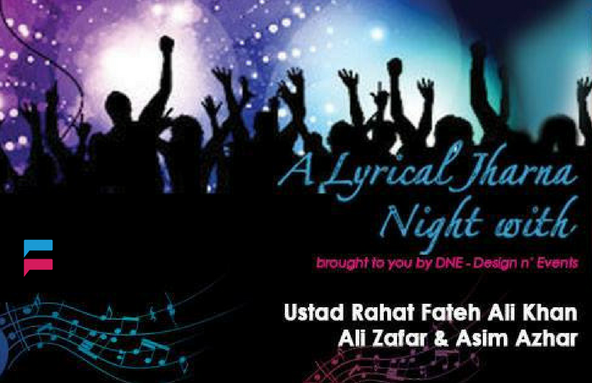 Lyrical Jharna Night - Event in Karachi