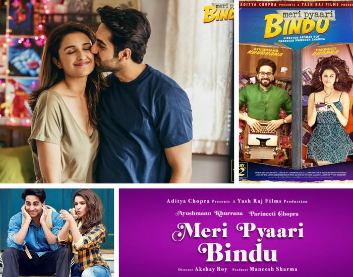 Meri Pyaari Bindu (2017) cast