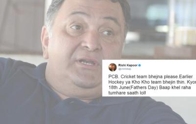 Rishi Kapoor Anti Pakistan tweets