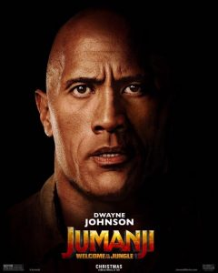Dwayne Johnson in Jumanji Welcome to the Jungle 2017