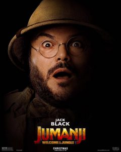 Jack Black in Jumanji Welcome to the Jungle 2017