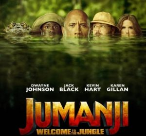Jumanji Welcome to the Jungle 2017 cover photo