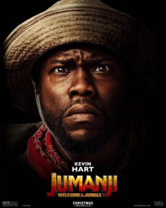Kevin Hart in Jumanji Welcome to the Jungle 2017
