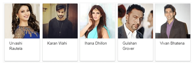 Hate Story 4 movie - cast