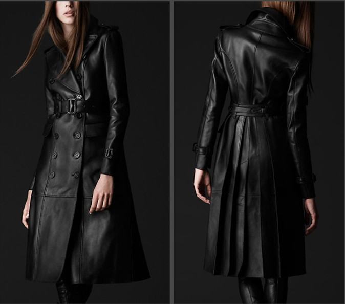 Long Coats and Leather Jackets