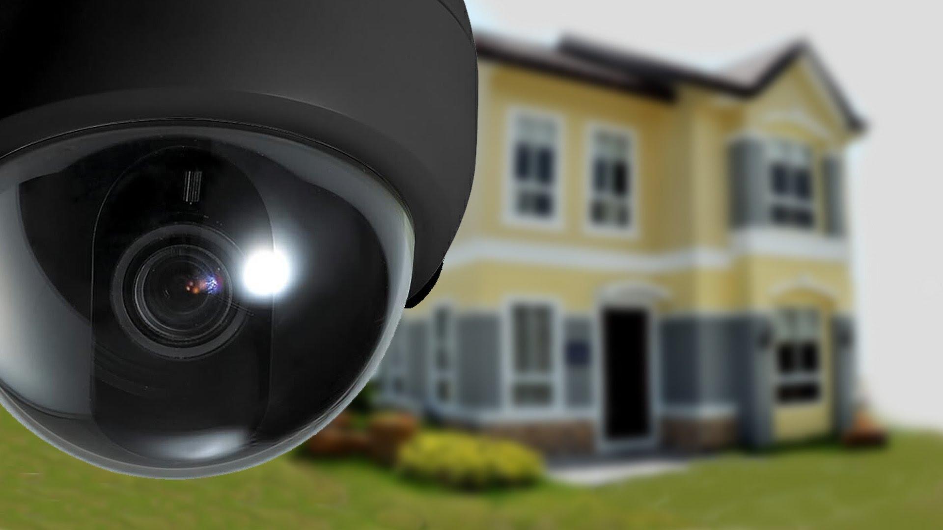 CCTV security camera for home