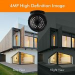 NYXCAM 4MP Home Security Camera System