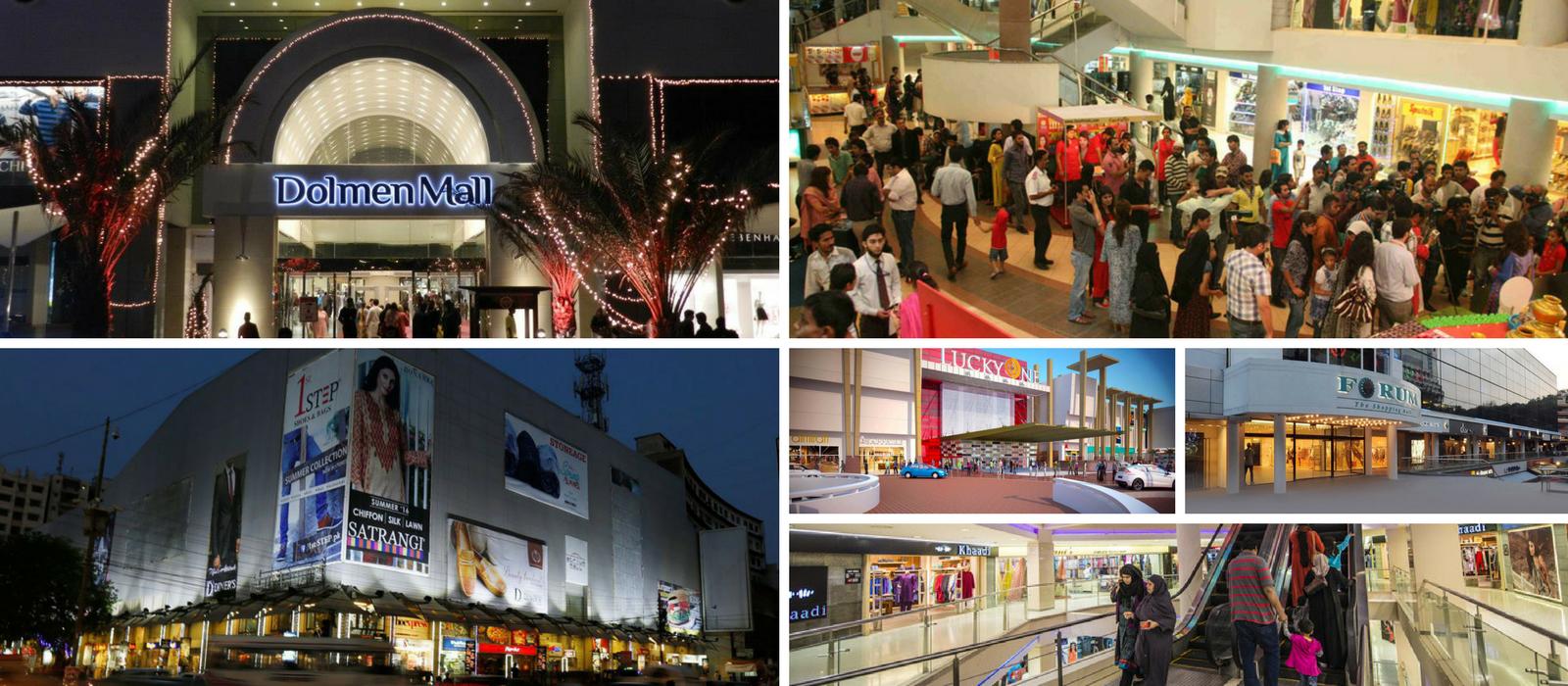 shopping malls in karachi