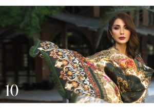 Iris 2019 Lawn Collection by Jazmin