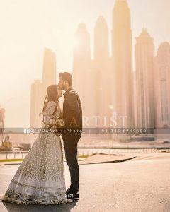 Pre-Wedding Photoshoot of Cricketer Hassan Ali in Dubai