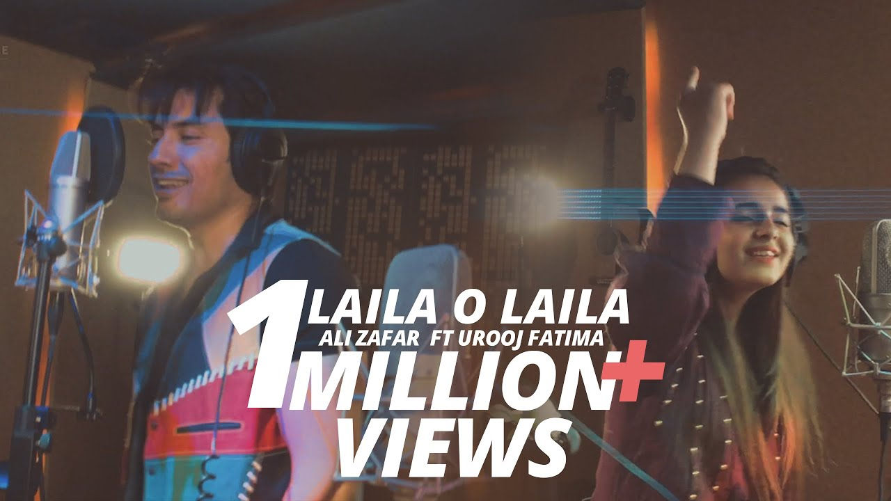 Laila O Laila - Ali Zafar ft Urooj Fatima Lightingale Productions