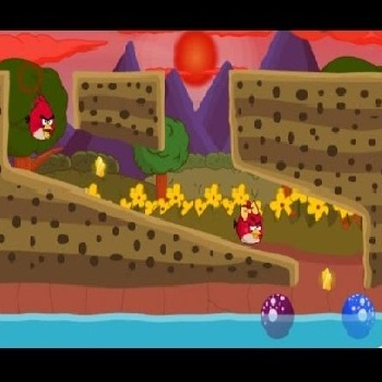 Angry Birds Water Adventure - Play Adventure Games online