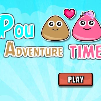 Pou Adventure Time Game - Play Adventure Games online