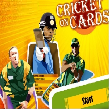 Cricket On Cards - Play Cards Games online