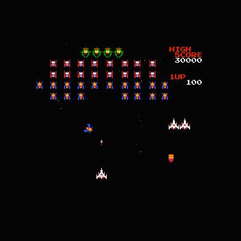 Galaga - Play Arcade Games online