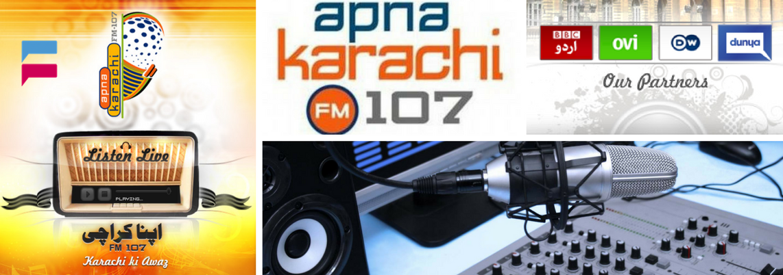 Apna FM 107 Karachi Live