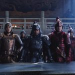 Andy Lau, Tian Jing, Lu Han, and Kenny Lin in The Great Wall (2016)