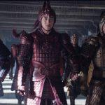 Eddie Peng, Xuan Huang, and Kenny Lin in The Great Wall (2016)