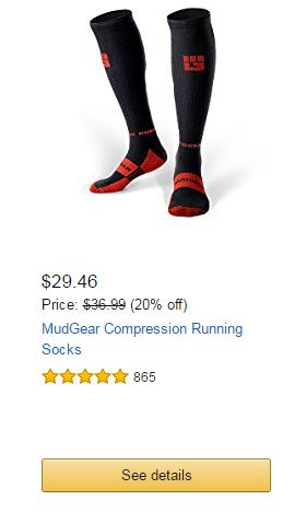 MudGear Compression Running Socks
