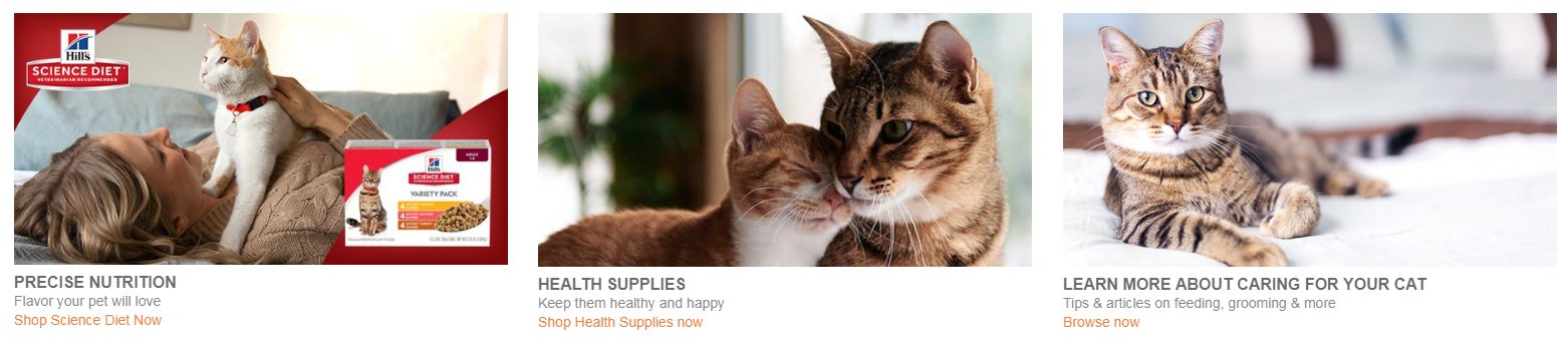 CAT SUPPLIES, CAT FOOD, CAT HEALTH PRODUCTS