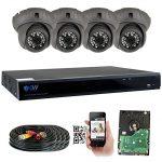 GW Security 8 Channel HD 5.0MP (2592TVL) camera