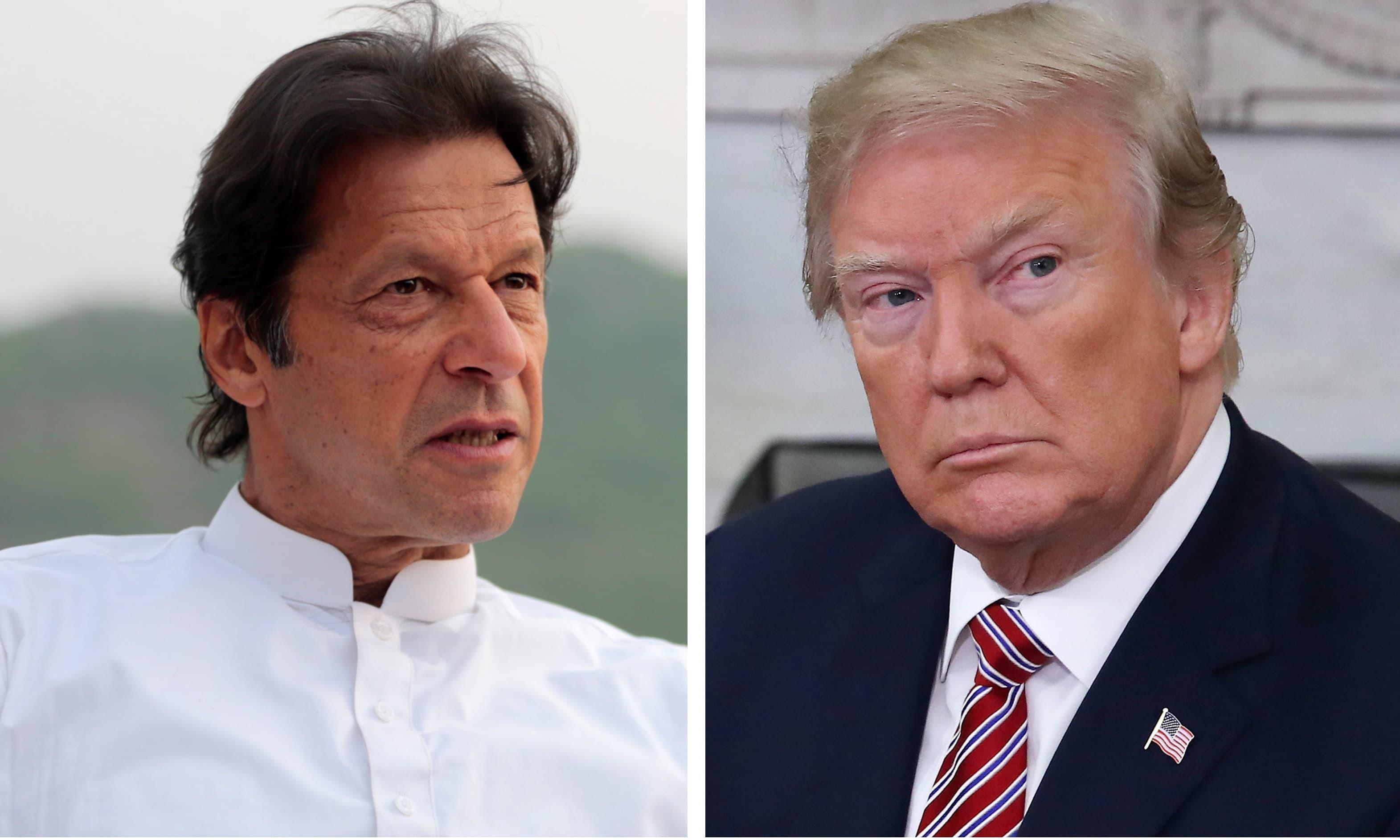 Khan meet Trump
